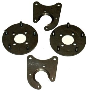 Economy Rear Disc Brake Kit, Samurai