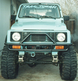 Front Bumper with receiver