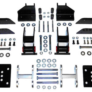 Wrangler YJ Spring Front Mount Kit with Missing Link
