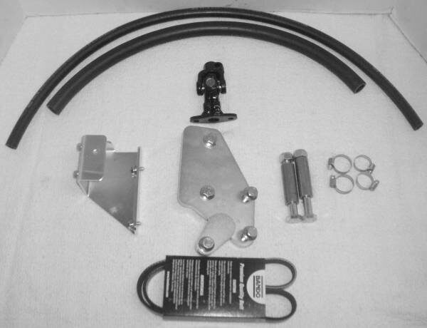 Power Steering Mounting Kit, 1600