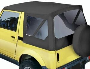 Soft Top With Zip Out Windows