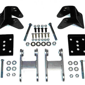 Wrangler YJ Spring Rear Mount Kit - Standard