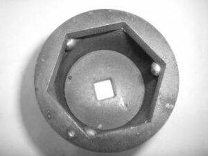 "Samurai 2"" Socket for Front Spindle Nut"