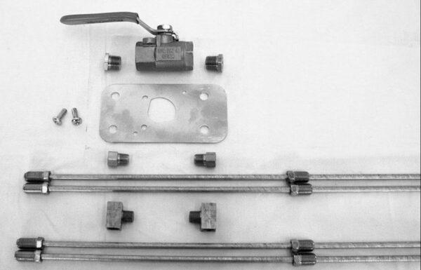 Brake Lock Valve Kit - Dual line
