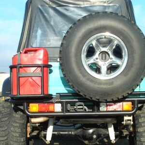 Rear Spare Tire Carrier