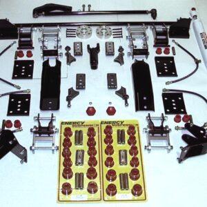Wrangler YJ Spring - Complete Front & Rear Suspension System
