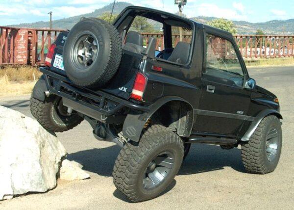Suzuki Sidekick / Geo Tracker Rear Bumpers, 2 Door