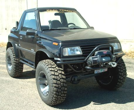 Suzuki Sidekick / Geo Tracker Front Bumpers, 2 Door