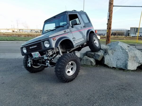 EPIC TREK SPOA Suzuki Samurai Suspension